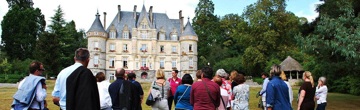 Visite guidée : Le château